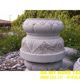 Chân cột đá tại Cao Bằng