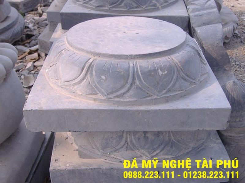 Chân cột đá tại Kiên Giang