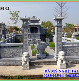 Thi công khu lăng mộ tại Hải phòng