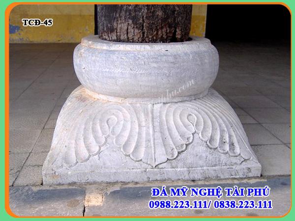 Làm Tảng cột đá đẹp tại Ninh Bình, làm chân cột đá