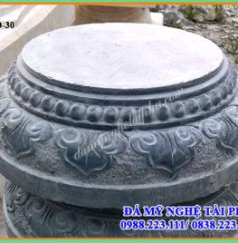 Chân cột đá tại Hà Tĩnh