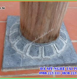 Tảng cột đá tại Kon Tum