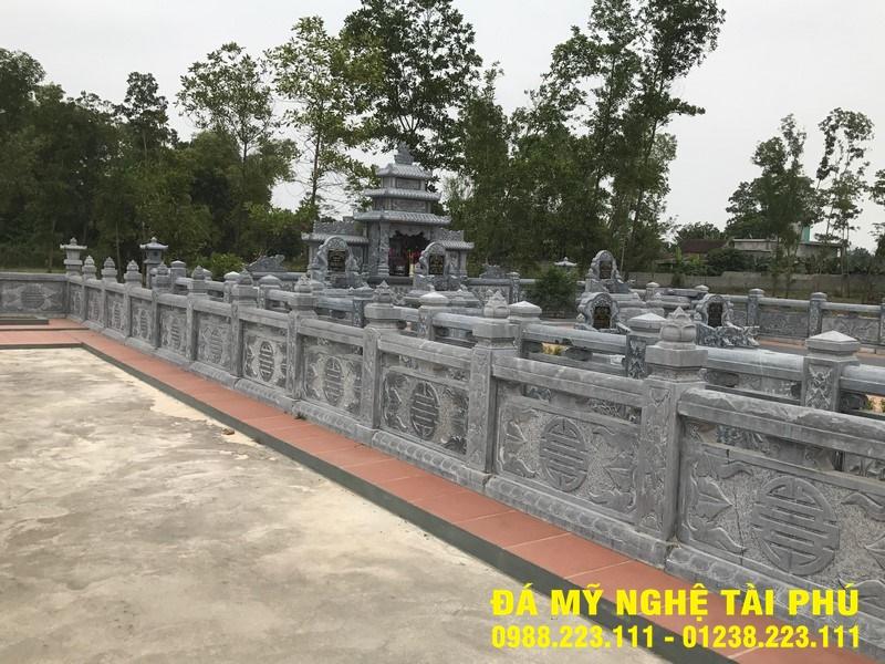 Xây lan can đá tại Bắc Giang