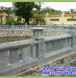 Làm lan can đá tại Bắc Giang