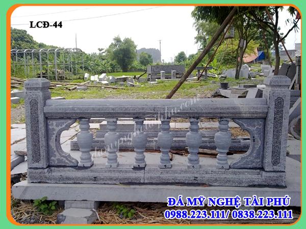 Lan can đá đẹp 44, Xây lan can đá tại Phú Yên, lan can con tiện