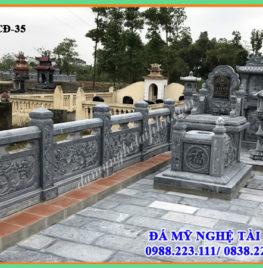 Xây lan can đá tại Tiền Giang