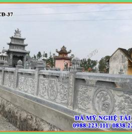 Xây lan can đá tại Điện Biên