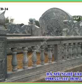 Xây lan can đá tại Bắc Ninh