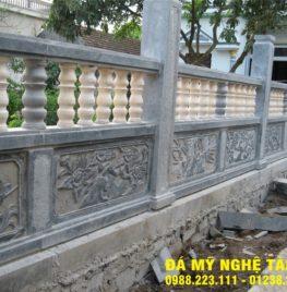 Xây lan can đá tại Lâm Đồng