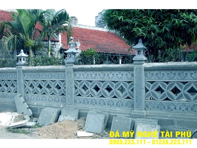 Xây lan can đá tại Ninh Thuận