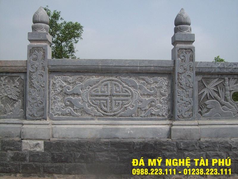 Xây lan can đá tại Phú Thọ