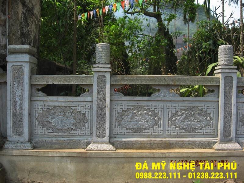 Xây lan can đá tại Quảng Nam