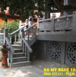 Xây lan can đá tại Sơn La