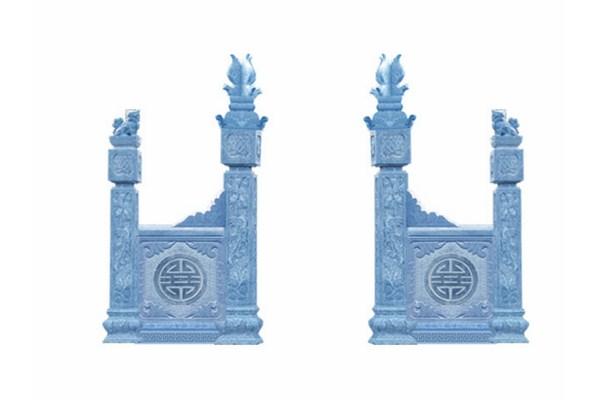 Làm cột đá nhà thờ họ tại Bình Dương