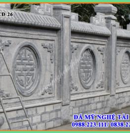 Xây tường rào đá tại Bình Định