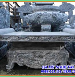Bàn lễ đá, bàn thờ đá đẹp 06