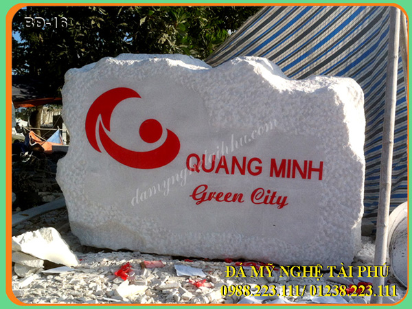 Bia đá công ty Quang Minh