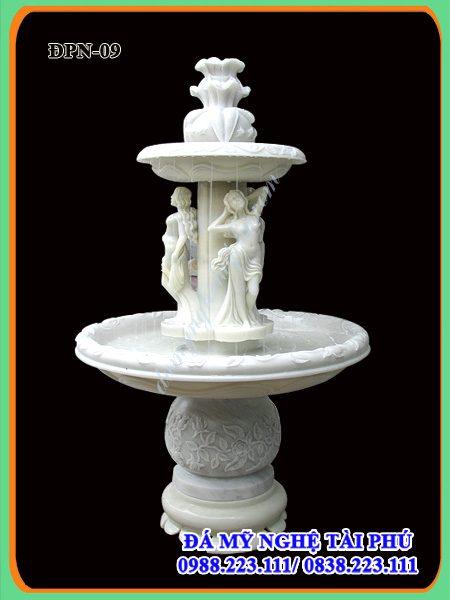 Đài phun nước, Đài phun nước mini bằng đá, đài phun nước đá đẹp, đài phun nước đá mini đẹp