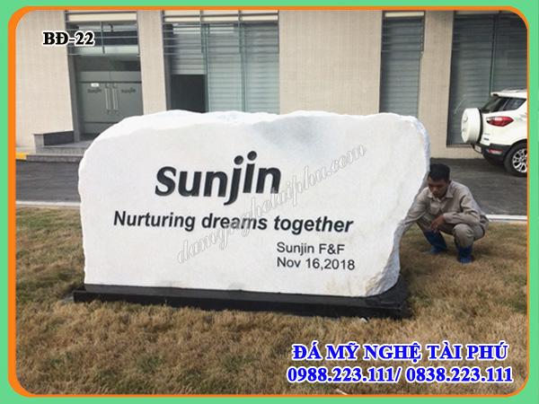 Bia đá tự nhiên Công ty Sunjin