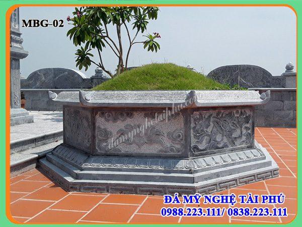 Mộ bát giác, mộ lục giác, mộ đá đẹp, Mộ đá bát giác, mộ đá lục giác 02