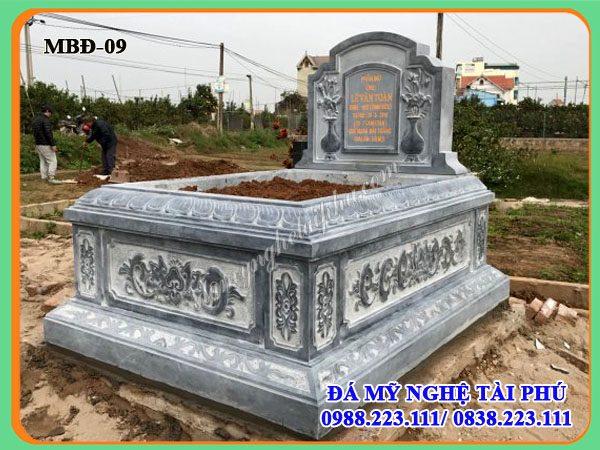 Mộ đá đẹp, Mộ bành đá đẹp 09, mộ tam sơn
