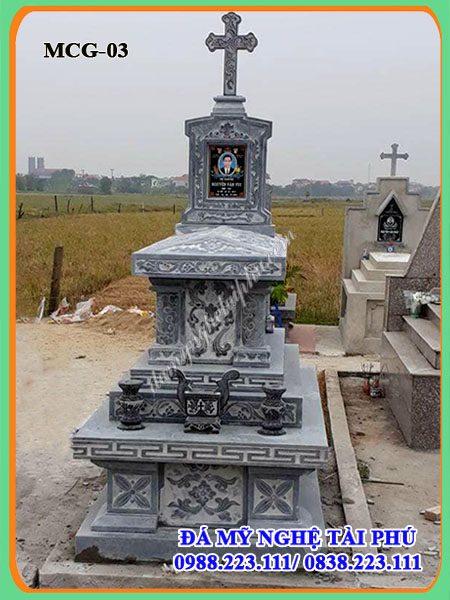 Mộ đạo, mộ công giáo, mộ đá công giáo