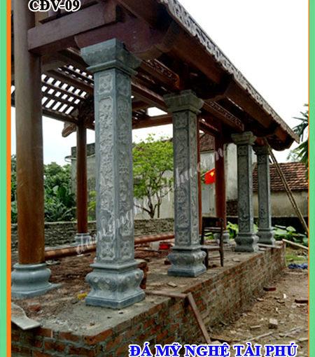 Cột hiên đá cho nhà thờ
