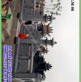 Làm khu lăng mộ đá tại Trường Yên