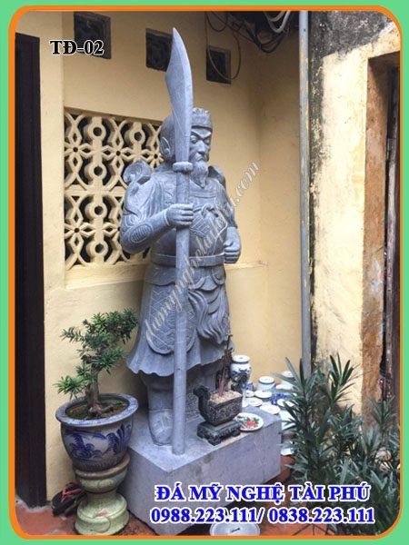 Tượng đá - Bộ Tượng hộ pháp đá, tượng tứ đại thiên vương, tuong da, tuong ho phap, tuong tu dai thien vuong