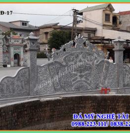 Cuốn thư đá dài 8,13m của Đình làng tiên sơn – Bắc Ninh