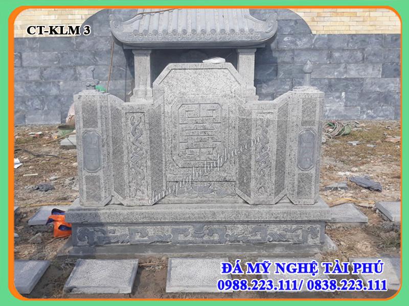 Hoàn thiện Khu lăng mộ đá tại Công viên nghĩa trang Lạc hồng viên - Hòa Bình