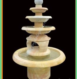 Làm đài phun nước mini đá vàng tại Hà nội