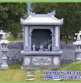 Lăng mộ đá đẹp cho khu lăng mộ