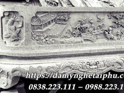 Bể đá cảnh cao cấp Hoa văn giả cổ của Đá mỹ nghệ Tài Phú