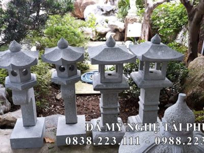 Đèn đá trang trí Nhật Bản #4