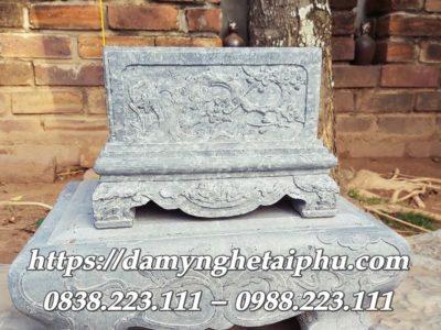Mẫu Bể đá giả cổ tranh Hoa Đào Cổ đẹp Tài Phú 2020