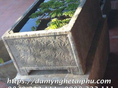 Mẫu Bể đá cảnh Thả SEN Đẹp Tài Phú
