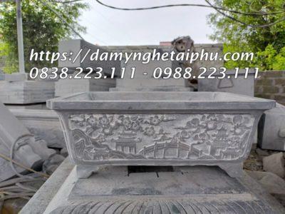 Mẫu Bể đá cảnh đẹp hoa văn giả cổ của Đá Mỹ Nghệ Tài Phú