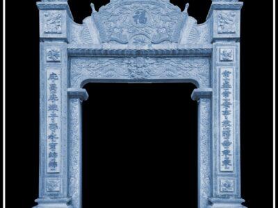 Mẫu Thiết kế Cổng đá đẹp cho Nhà thờ tổ/Từ đường