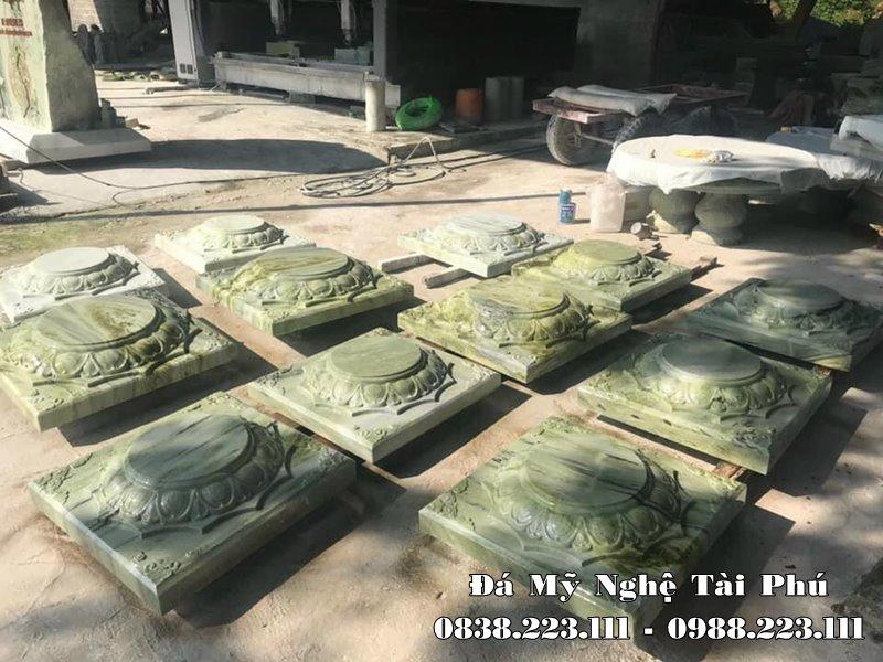 Chan tang da xanh ngoc cao cap Tai Phu