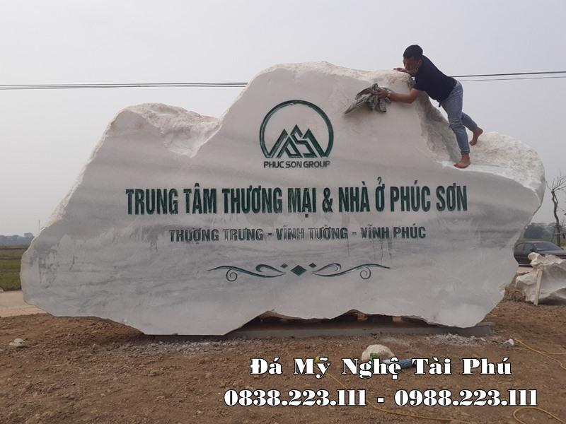 Bia da tu nhien TT Thuong mai va Nha o Phuc Son