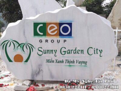 Bia đá tự nhiên cho tập đoàn CEO Group – Sunny Garden City