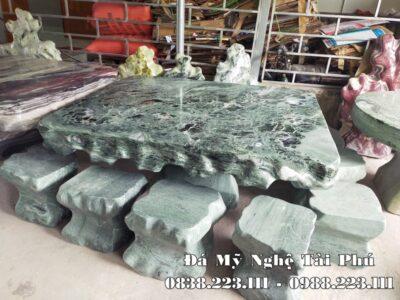 Sập đá, Bàn ghế đá tự nhiên đẹp, nguyên khối Tài Phú