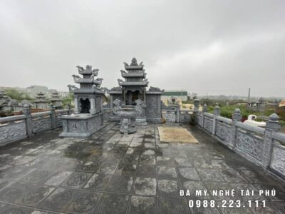 Xây dựng Khu mộ đá Họ Phạm tại Ninh Bình