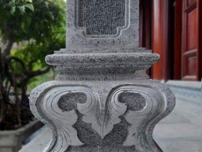 Mẫu Chân cột đá, Cột đá đẹp Tài Phú cho Nhà thờ gỗ