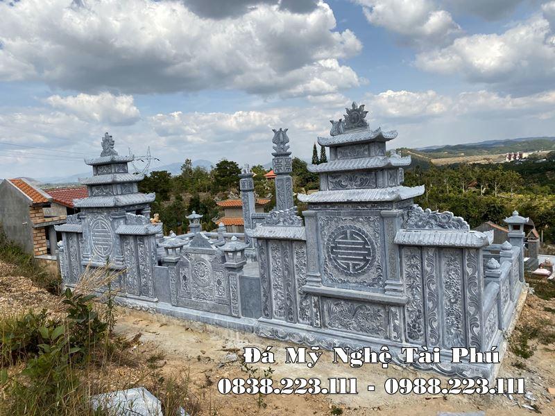Xay dung Lang mo da cao cap tai Quang Nam 2021